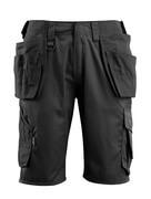 16049-230-09 Short avec poches flottantes - Noir