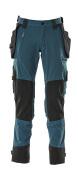 17031-311-010 Pantalon avec poches genouillères et poches flottantes - Marine foncé