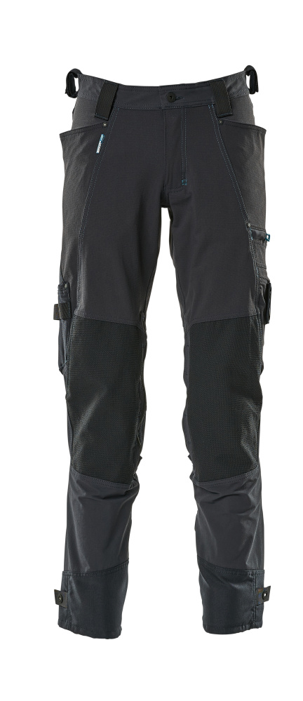17079-311-010 Pantalon avec poches genouillères - Marine foncé