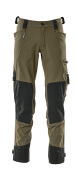 17079-311-33 Pantalon avec poches genouillères - vert foncé