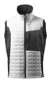 17165-318-0618 Gilet grand froid - Blanc/Anthracite foncé