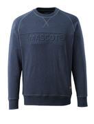 17184-830-66 Sweatshirt - Denim bleu foncé délavé