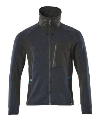 17484-319-09 Sweatshirt zippé - Noir