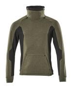17584-319-3309 Sweatshirt - vert foncé/noir