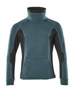 17584-319-4409 Sweatshirt - Bleu pétrole foncé/Noir