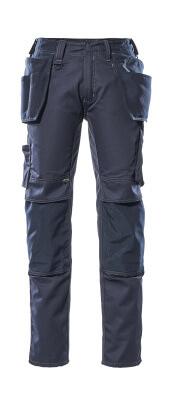 17731-442-010 Pantalon avec poches genouillères et poches flottantes - Marine foncé
