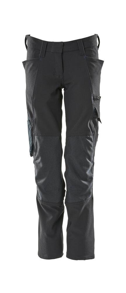 18088-511-010 Pantalon avec poches genouillères - Marine foncé