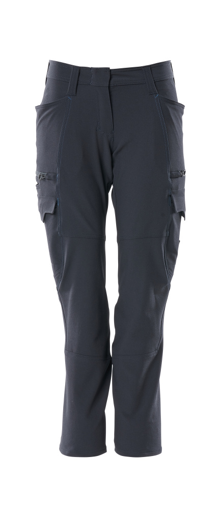 18178-511-010 Pantalon avec poches cuisse - Marine foncé