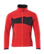 18303-137-20209 Veste polaire - Rouge trafic/Noir