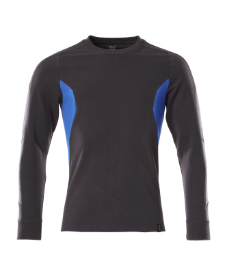 18384-962-01091 Sweatshirt - Marine foncé/Bleu olympien