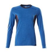 18391-959-91010 T-shirt, manches longues - Bleu olympien/Marine foncé