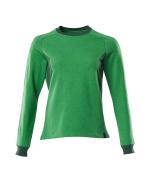 18394-962-33303 Sweatshirt - vert gazon/vert bouteille