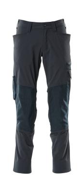 18479-311-010 Pantalon avec poches genouillères - Marine foncé