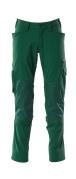 18479-311-03 Pantalon avec poches genouillères - Vert bouteille