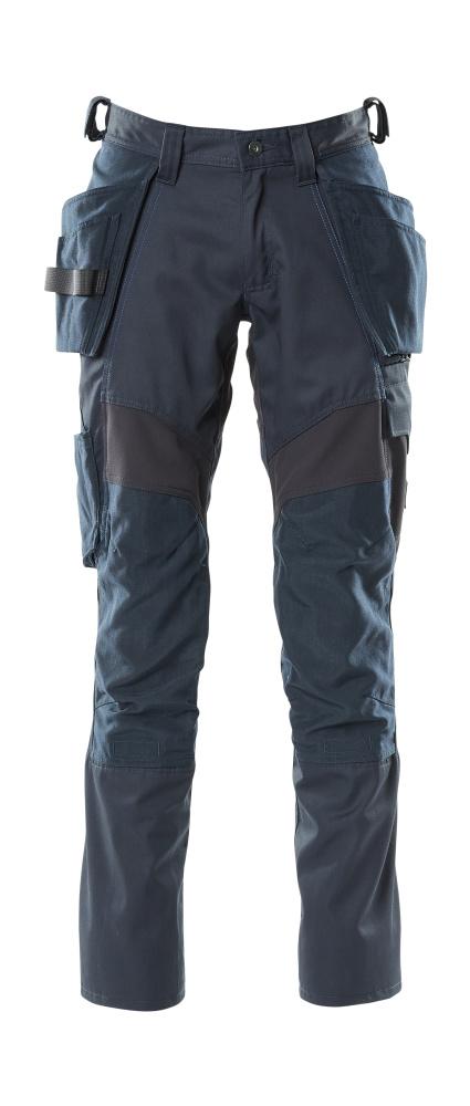 18531-442-010 Pantalon avec poches flottantes - Marine foncé