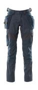 18531-442-010 Pantalon avec poches genouillères et poches flottantes - Marine foncé
