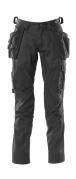 18531-442-09 Pantalon avec poches genouillères et poches flottantes - Noir