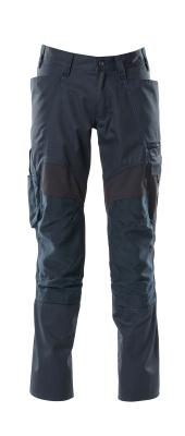 18579-442-010 Pantalon avec poches genouillères - Marine foncé