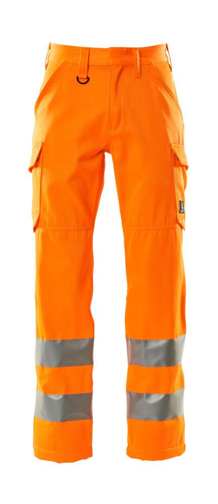 18879-860-14 Pantalon avec poches cuisse - Hi-vis orange