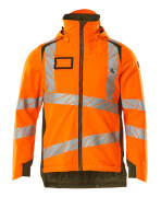 19035-449-1433 Veste grand froid - Hi-vis orange/vert mousse