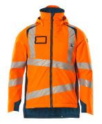 19035-449-1444 Veste grand froid - Hi-vis orange/Bleu pétrole foncé