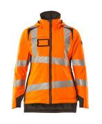 19045-449-1418 Veste grand froid - Hi-vis orange/Anthracite foncé