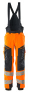 19090-449-14010 Pantalon grand froid - Hi-vis orange/Marine foncé