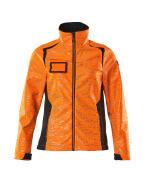 19212-291-14010 Veste softshell - Hi-vis orange/Marine foncé