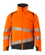 19435-231-14010 Veste grand froid - Hi-vis orange/Marine foncé