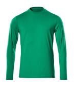 20181-959-333 T-shirt, manches longues - Vert gazon