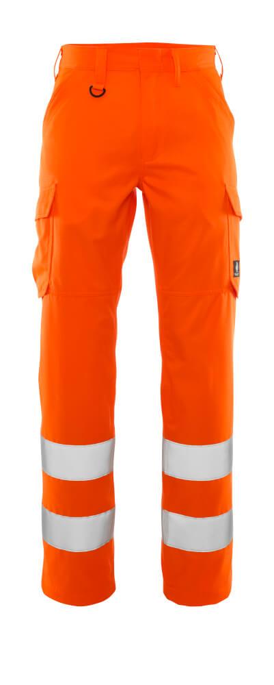 20859-236-14 Pantalon avec poches cuisse - Hi-vis orange