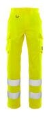 20859-236-17 Pantalon avec poches cuisse - Hi-vis jaune