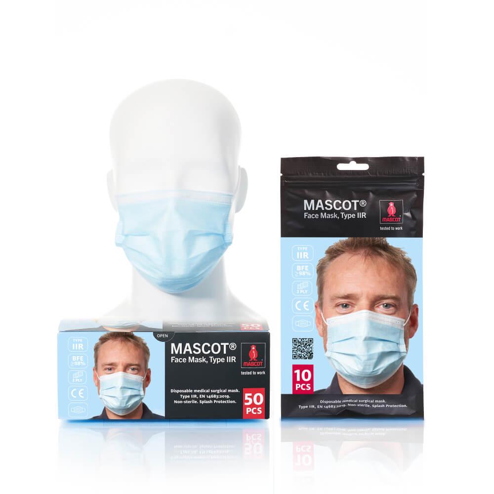 20950-921-71 Masque médical - Bleu ciel