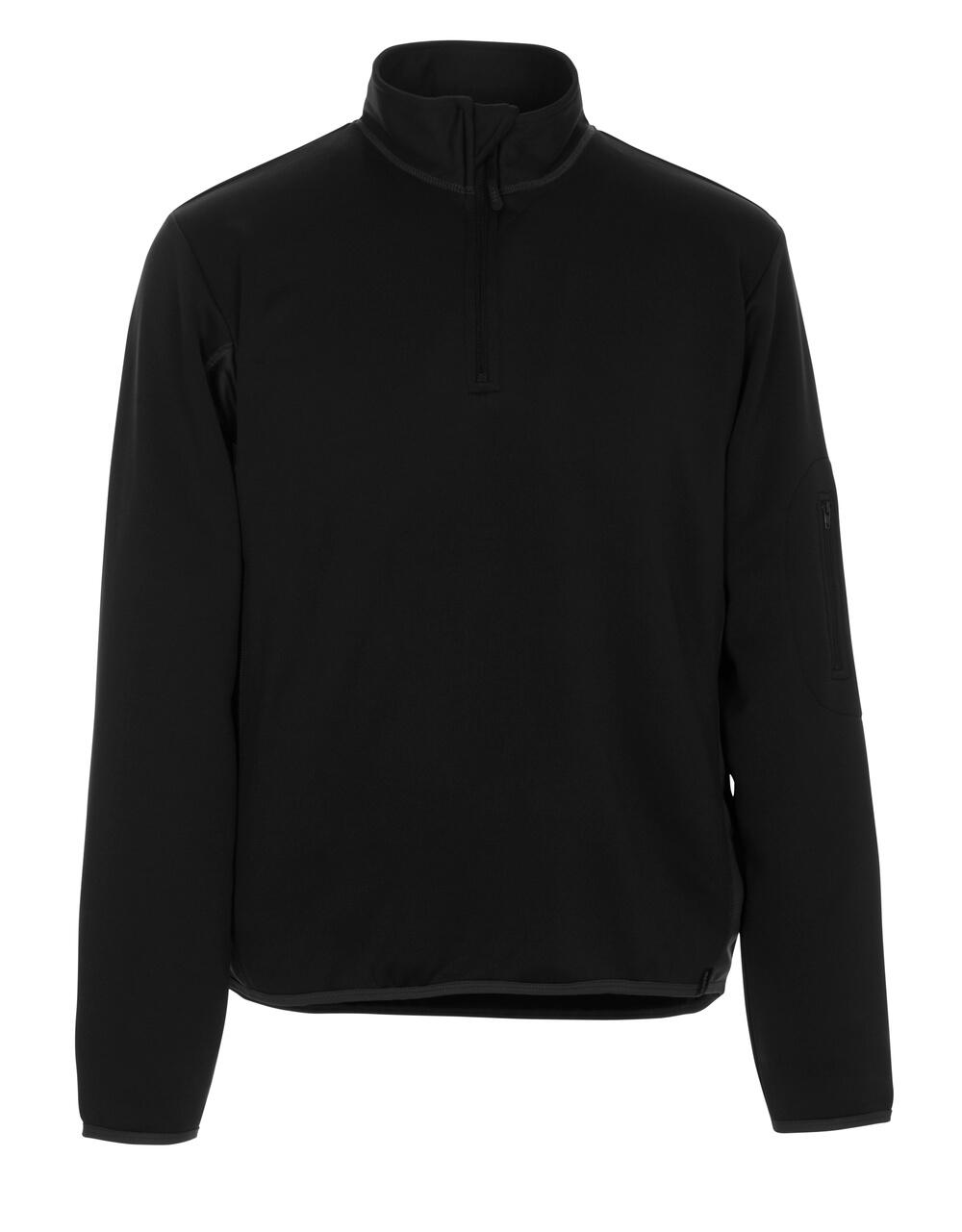 50068-828-0918 Sweatshirt polo - Noir/Anthracite foncé