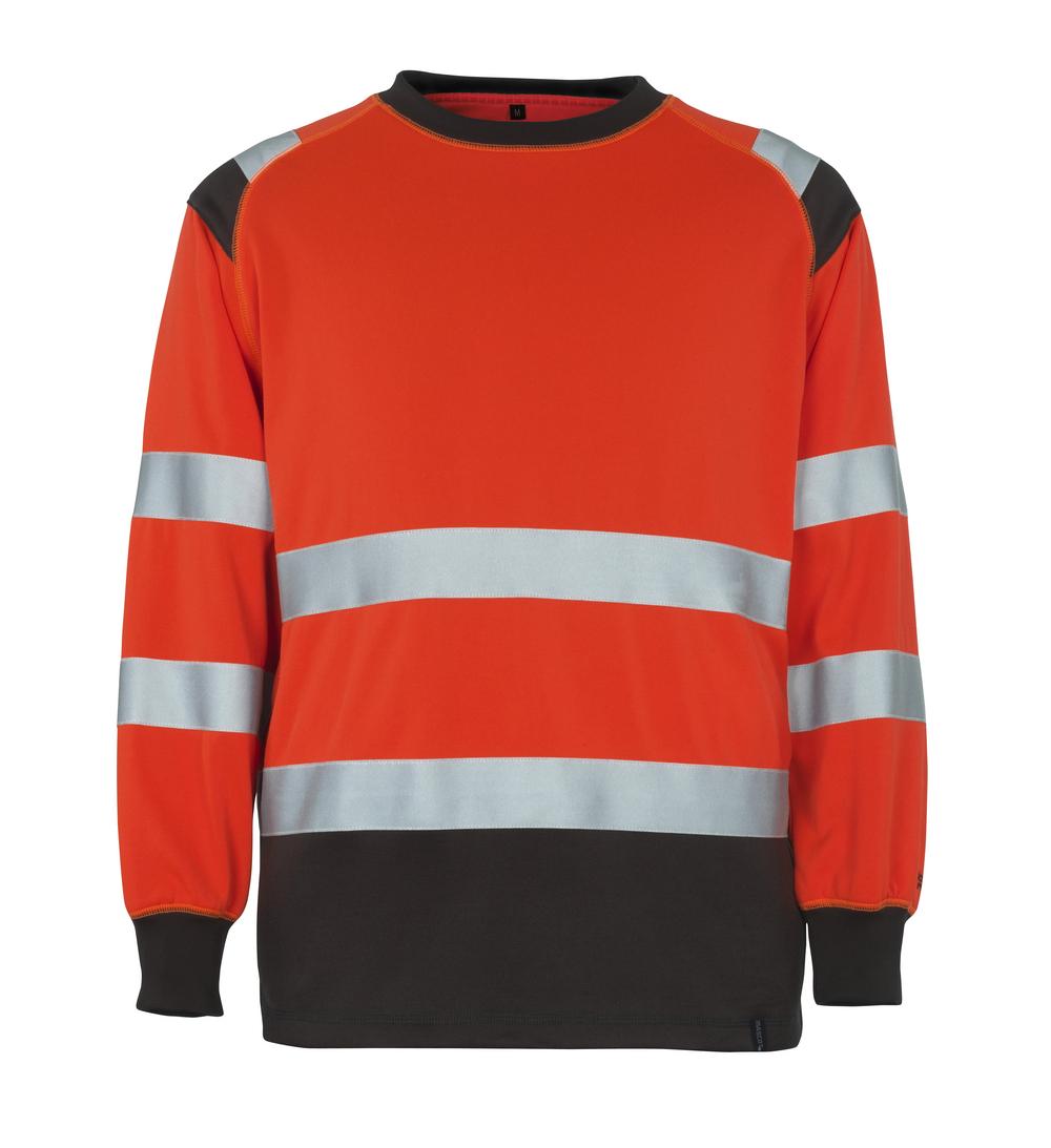 50110-854-A49 Sweatshirt - Hi-vis rouge/Anthracite foncé