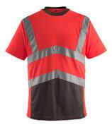 50118-949-A49 T-shirt - Hi-vis rouge/Anthracite foncé