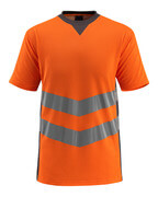 50127-933-1418 T-shirt - Hi-vis orange/Anthracite foncé