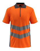 50130-933-1418 Polo - Hi-vis orange/Anthracite foncé