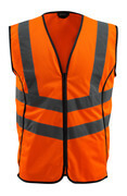 50145-977-14 Gilet de circulation - Hi-vis orange