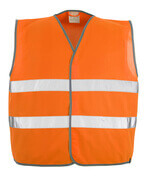 50187-874-14 Gilet de circulation - Hi-vis orange