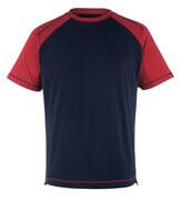 50301-250-12 T-shirt - Marine/Rouge