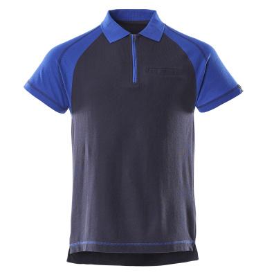 50302-260-111 Polo avec poche poitrine - Marine/Bleu roi