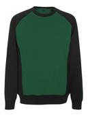 50503-830-0309 Sweatshirt - Vert bouteille/Noir