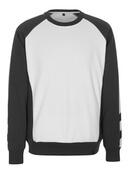 50503-830-0618 Sweatshirt - Blanc/Anthracite foncé