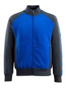 50565-963-11010 Sweatshirt zippé - Bleu roi/Marine foncé