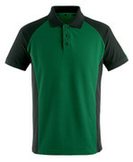 50569-961-0309 Polo - Vert bouteille/Noir