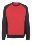 50570-962-0209 Sweatshirt - Rouge/Noir