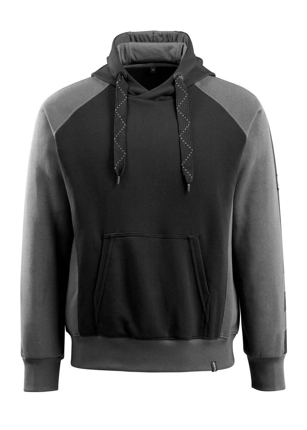 50572-963-0918 Sweat capuche - Noir/Anthracite foncé