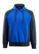 50572-963-11010 Sweat capuche - Bleu roi/Marine foncé