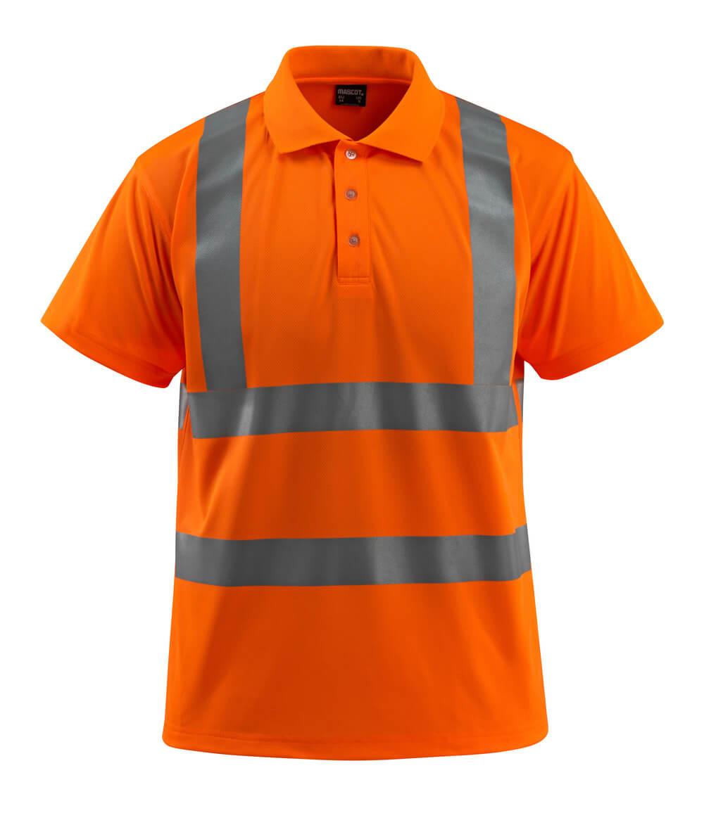 50593-972-14 Polo - Hi-vis orange